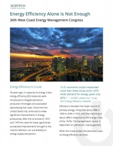 Energy Efficiency Alone is Not Enough - paper