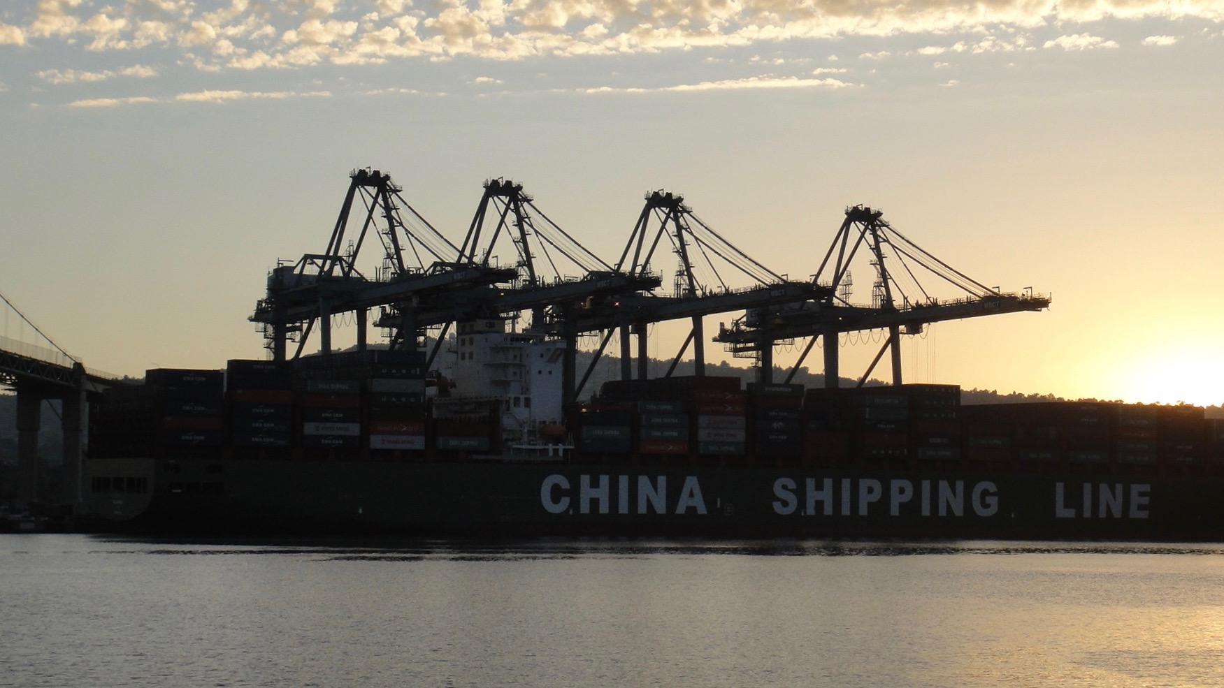China Shipping at the Port of Los Angeles
